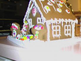 Sam's Gingerbread House