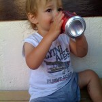 Finley with his Jones Soda Take 1