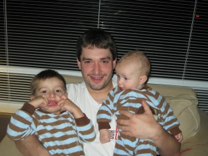 Daddy and his Boys