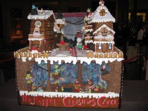 Muppet Christmas Carol Gingerbread House