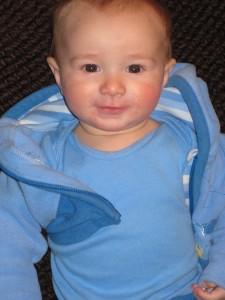 Declan at 6 months.