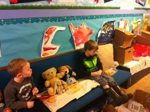 Teddy Bear picnic at preschool