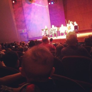 An Afternoon at the Symphony with Papa Thom.