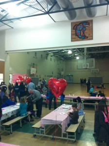 Sweetheart Dance at Finley's school.