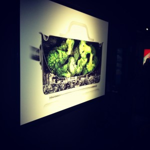 We went to see the modernist cuisine exhibit at the Science Center.  Tyler couldn't stop drooling. :)
